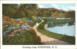 Greeting From Andover Postcard