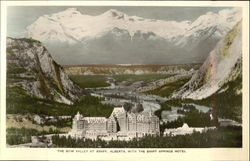 The Bow Valley At Banff