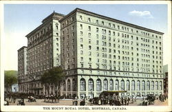 The Mount Royal Hotel Postcard
