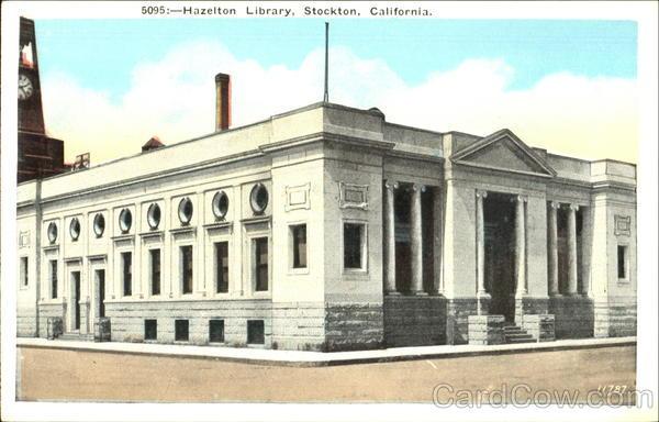 Hazelton library stockton ca for Shirt printing stockton ca