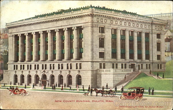 New County Building Duluth Minnesota