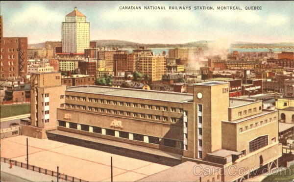 Canadian National Railways Station Montreal Canada