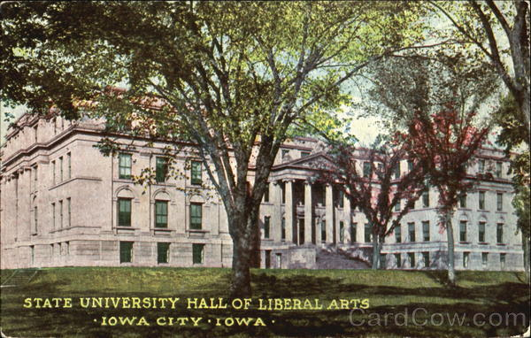State University Hall Of Liberal Arts Iowa City