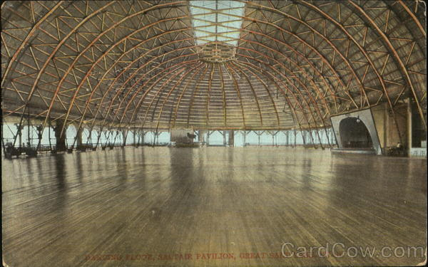 Dancing Floor Saltair Pavilion Great Salt Lake Utah