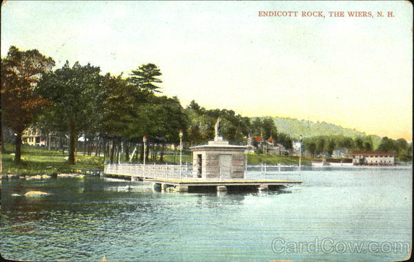 Endicott Rock, The Wiers Derry New Hampshire