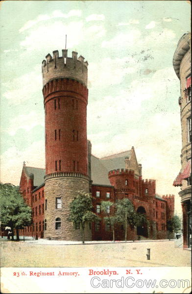 Regiment Armory Brooklyn New York