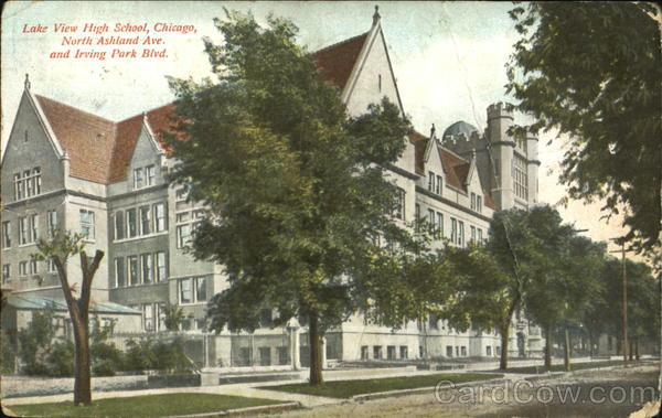 Lake view high school north ashland ave and irving park for Irving hotel chicago