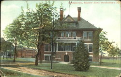 Headquarters Soldiers Home Postcard