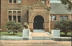 Entrance Museum Of Natural Science