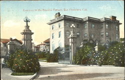 Entrance To The Presidio Terrace Postcard
