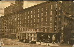 Hotel Rector, Third Ave & Cherry St Postcard