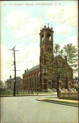 St. Bridget's Church Postcard