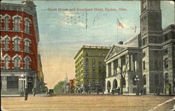 Court House And Courtland Hotel