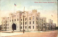 Illinois State Arsenal Postcard