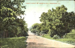 From Summit Of Corey's Hill Postcard