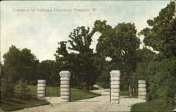 Entrance Of Oakland Cemetery