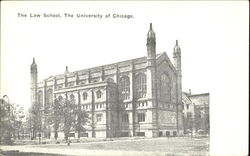The Law School, The University of Chicago Postcard