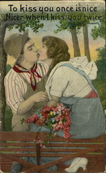 To Kiss You Once Is Nice
