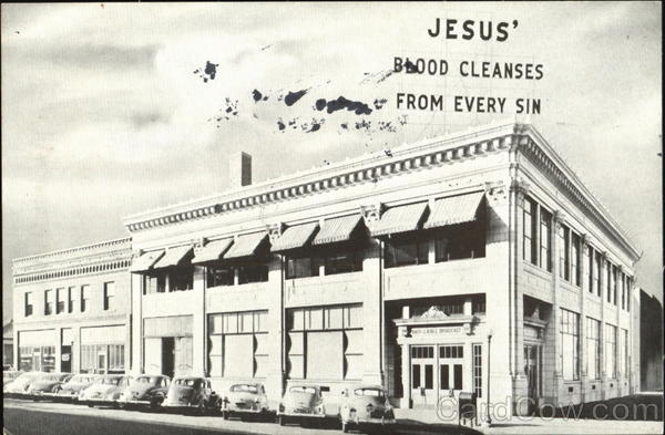 Offices And Studios Of The Back To The Bible Broadcast, 12th and M Streets Lincoln Nebraska