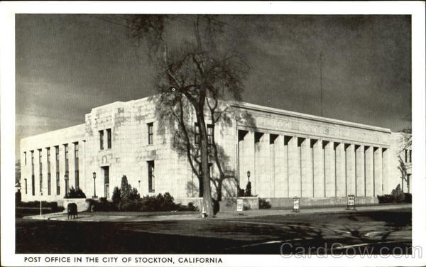 Post Office In The City Of Stockton California