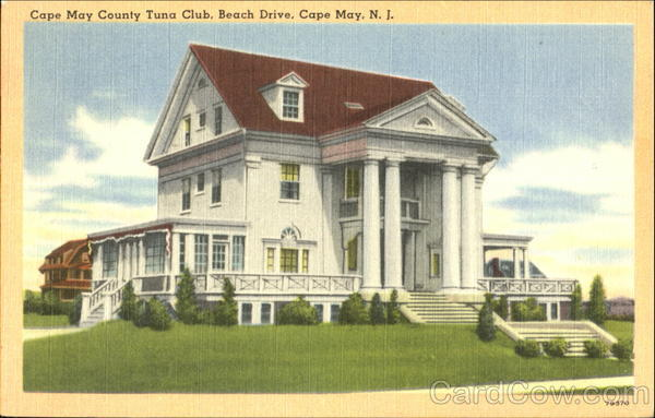 Cape May County Tuna Club, Beach Drive New Jersey