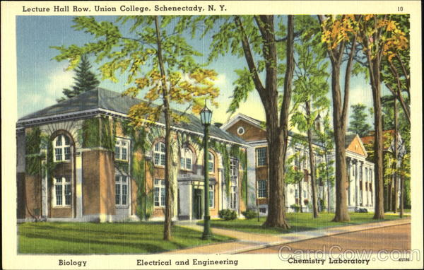 Lecture Hall Row, Union College Schenectady New York