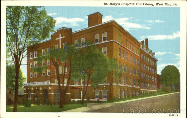 St. Mary's Hospital Clarksburg West Virginia