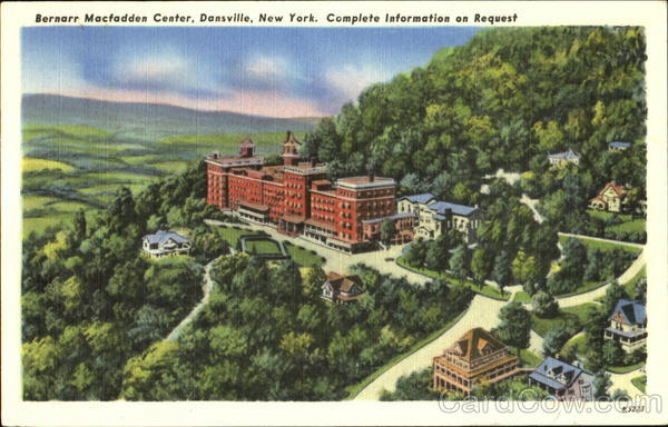 Bernarr Macfadden Hotel & Health Center Dansville New York
