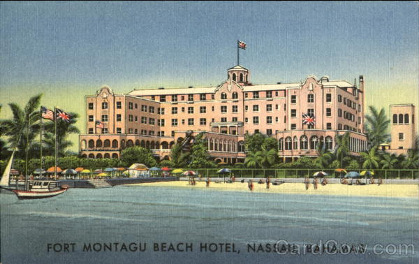 Fort Montagu Beach Hotel Nassau Bahamas Caribbean Islands