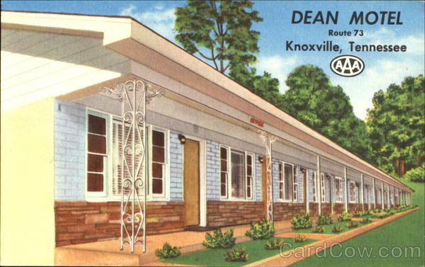 Dean Motel, Route 73 Knoxville Tennessee
