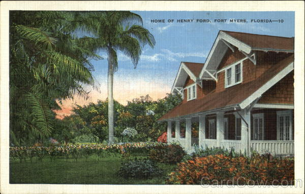Home Of Henry Ford Fort Myers Fl