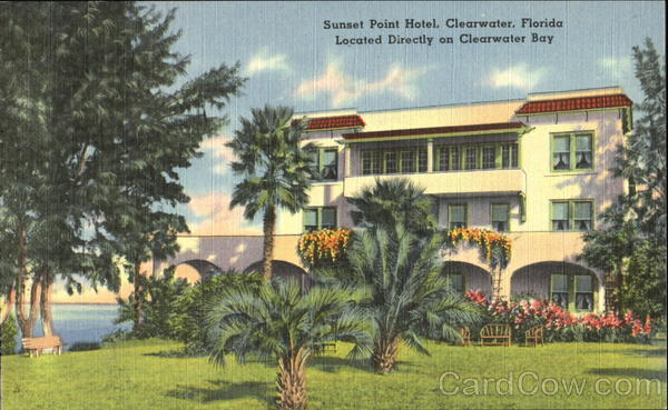 Sunset Point Hotel Clearwater Florida