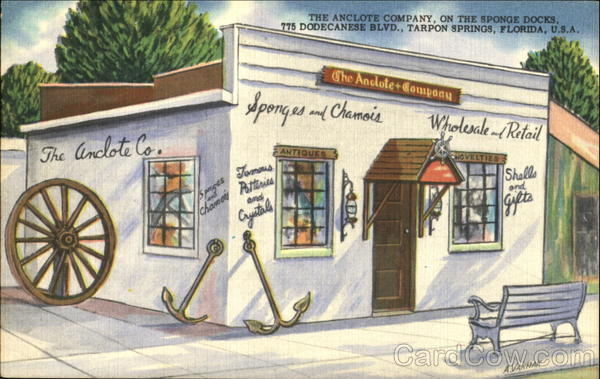 The Anclote Company, On the Sponge Docs, 775 Dodecanese Blvd Tarpon Springs Florida