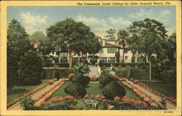 The Casements Junior College For Girls Ormond Beach Florida
