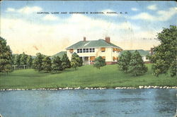 Capitol Lake And Governor's Mansion