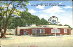 Paradise Point Restaurant And Lounge, Hiway 90, 3 Miles East of Gulfport