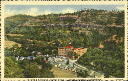Richardson Springs, Butte County Postcard