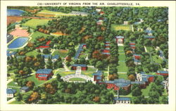 University Of Virginia From The Air