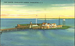 Fort Sumter Charleston Harbor
