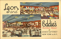 Leon & Eddie's, 33 West 52nd Street