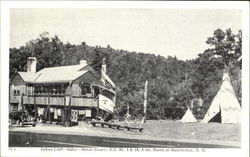 Indian Cliff Trading Post, U.S. Rt. 3 & 28 Postcard