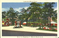 Lakeside Motor Court, U.S. Highway 17