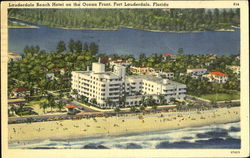 Lauderdale Beach Hotel On The Ocean Front