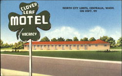 Clover Leaf Motel, North City Limits On Hwy. 99