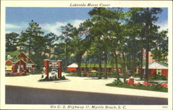 Lakeside Motor Court, On U.S. Highway 17
