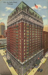 Hotel La Salle, La Salle And Madison Sts Postcard