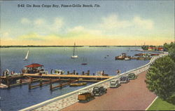 On Boca Ceiga Bay, S-62 On Boca Ceiga Bay Postcard