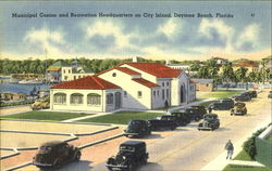 Municipal Casino And Recreation Headquarters Postcard