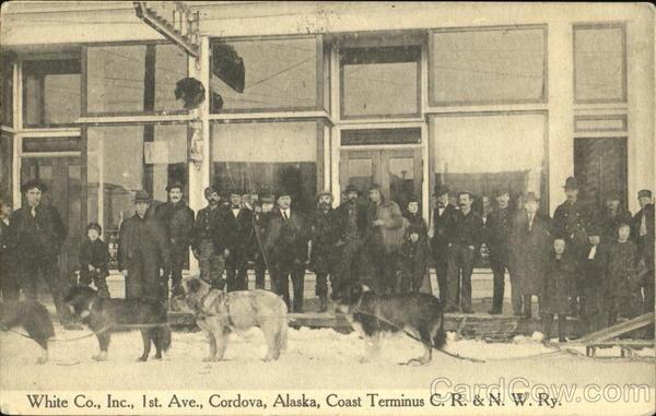 White Co., Inc.,, 1st Ave.