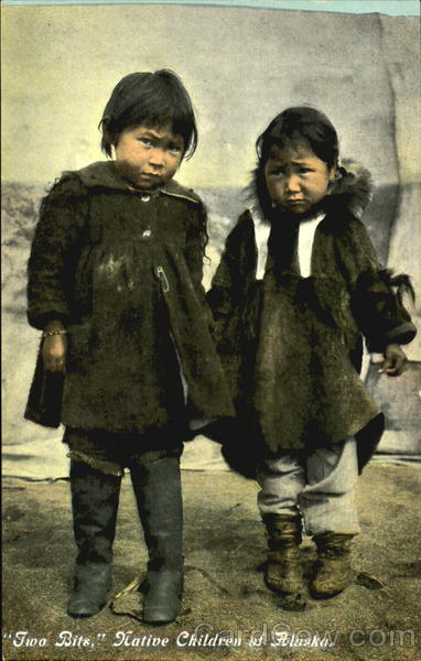 Native Children Of Alaska Native Americana